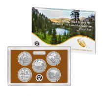 USA Coffret Proof BU Quarters 2019 - 5 pièces