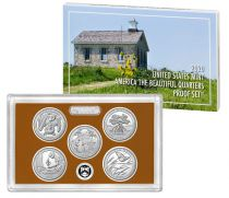 USA Beautiful Quarters Proof set 2020 - 5 coins