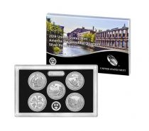 USA Coffret Proof Quarters 2019 Argent