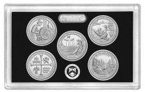 USA Coffret Proof Quarters 2019 Argent