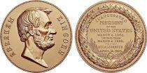 USA Médaille Bronze Abraham Lincoln - Présidents américains - U.S. Mint