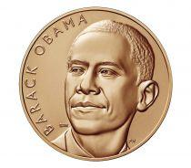 USA Médaille Bronze Barack Obama (1e Mandat) - Présidents américains - U.S. Mint