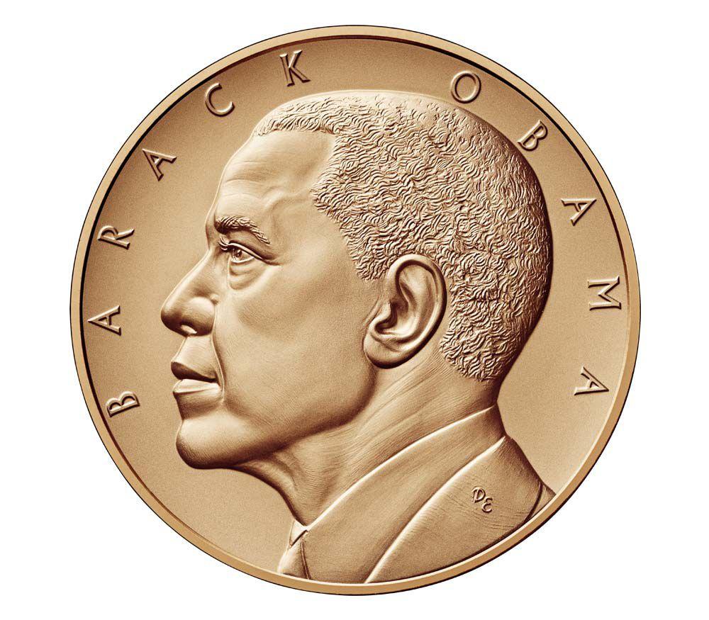USA Médaille Bronze Barack Obama (2ème Mandat) - Présidents américains - U.S. Mint