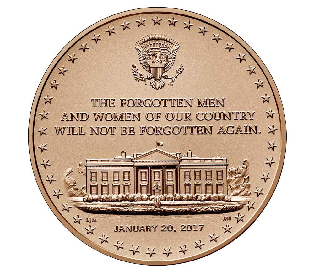 USA Médaille Bronze Donald Trump - Présidents américains - U.S. Mint