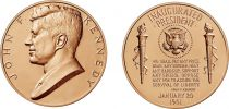 USA Médaille Bronze JF Kennedy - Présidents américains - U.S. Mint