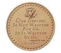 USA Presidential bronze medal - Barack Obama (1st Term) - U.S. Mint