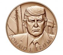 USA Presidential bronze medal - Donald Trump - U.S. Mint
