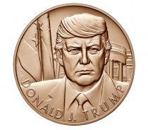 USA Presidential bronze medal - Donald Trump - U.S. Mint