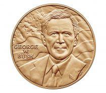 USA Presidential bronze medal - George W. Bush (1st Term) - U.S. Mint