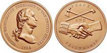 USA Presidential bronze medal - George Washington - U.S. Mint