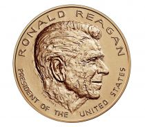 USA Presidential bronze medal - Ronald Reagan - U.S. Mint