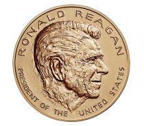 USA Presidential bronze medal - Ronald Reagan - U.S. Mint