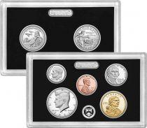 USA Proof Set 2021 - 7 coins - S San Francisco - Silver