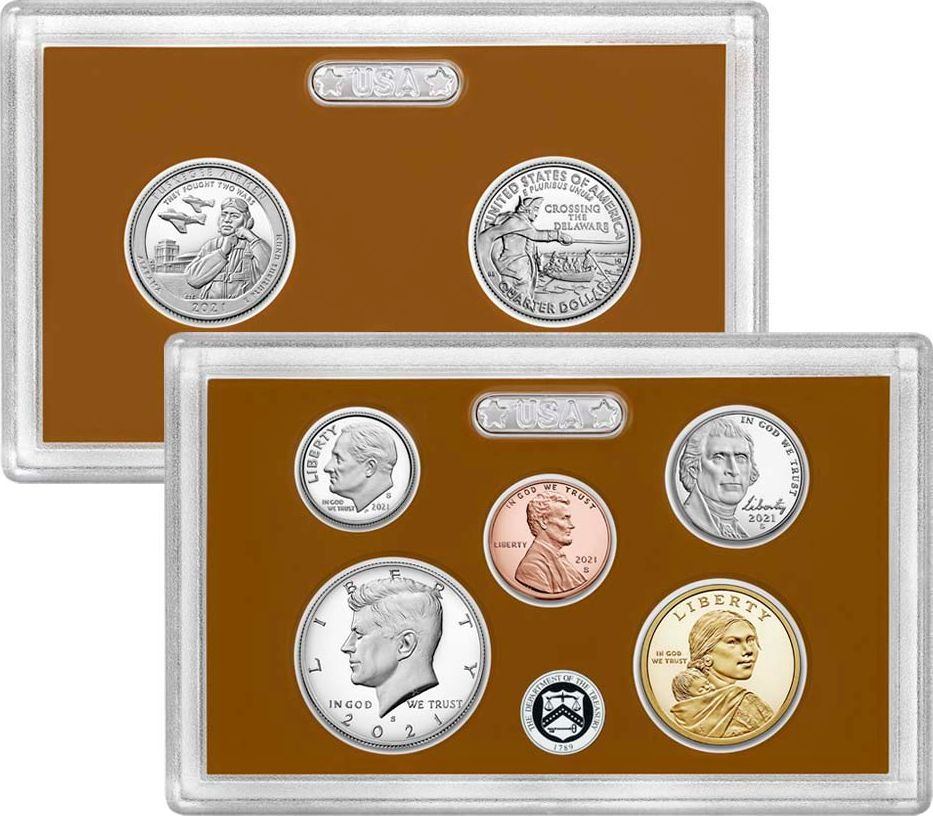 USA Proof Set 2021 - 7 monnaies - S San Francisco