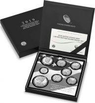 USA United Mint Limited Edition 2019 Silver Proof Set