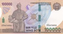 Uzbekistan 100000 Som Mirzo Ulugbek - 2019 - UNC