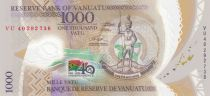 Vanuatu 1000 Vatu - 40 years of Independance 2020 - Polymer - UNC