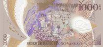 Vanuatu 1000 Vatu - Chef Mélanésien - 40 ans de l\'Indépendance 2020 - Polymer - Neuf