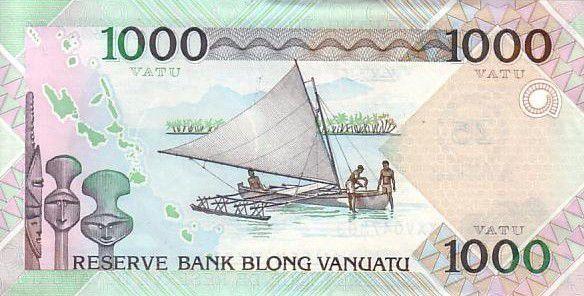 Vanuatu 1000 Vatu Chef Mélanésien - Fête du 25ème Jubilé Indép. - 2007