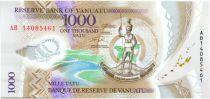 Vanuatu 1000 Vatu Chef Mélanésien - Récolte et Elevage - 2014