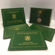 Vatican 2 Euro, Coffret BU 2018 - Patrimoine Culturel