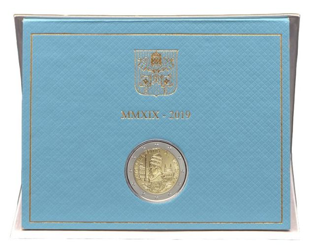 Vatican 2 Euro, Coffret BU 2019 - Fondation du Vatican