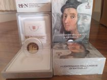 Vatican 5 Euros Coffret BE 2020 - Raphael - Disponible