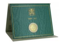 Vatican City State 2 Euro, Proof set 2010 - Anno Sacerdotale