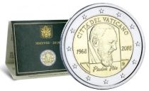 Vatican 2 Euro, Coffret BU 2018 - Padre Pio