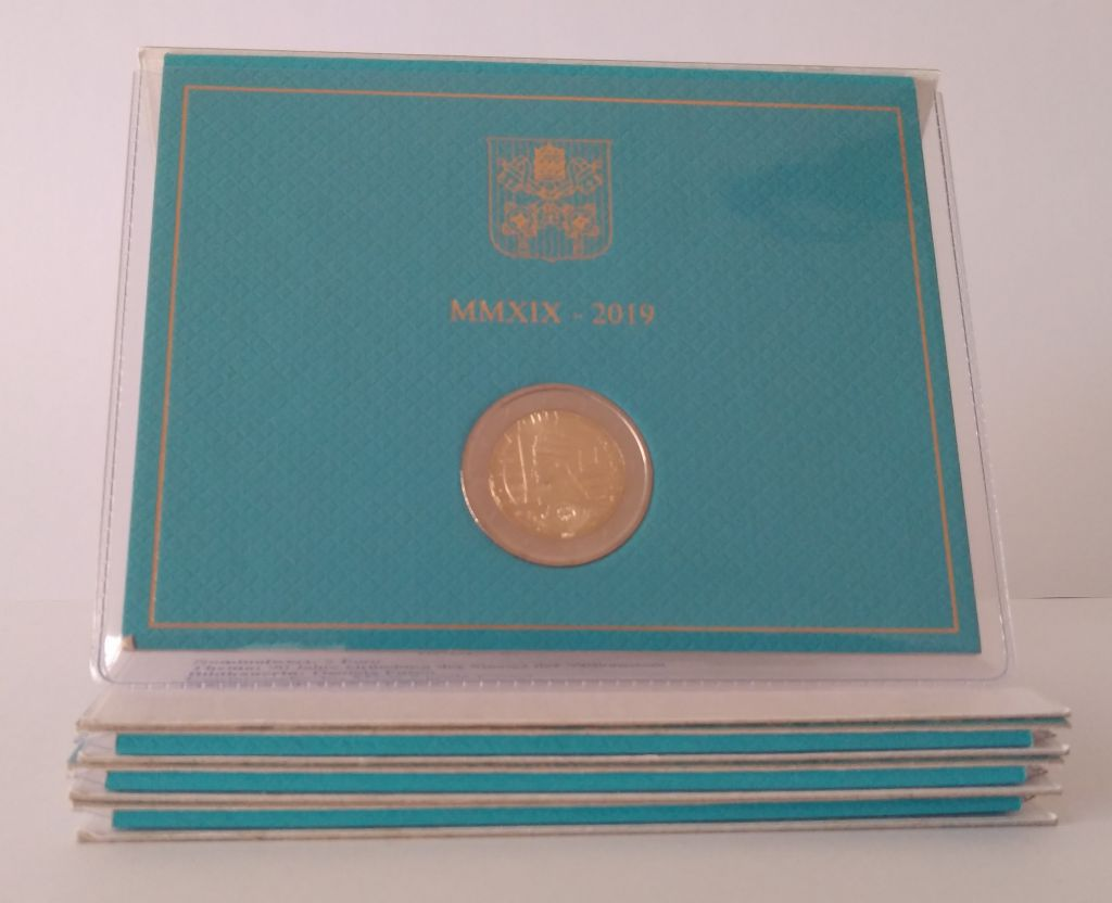 Vatican City State 2 Euro 2019 - Creation of the Vatican State