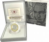 Vatican City State 5 Euro 2020 - Beethoven - Proof