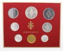 Vatican City State Mint set of 8 coins Paul VI 1977 Rome