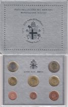 Vatican City State Proof set of 2003 - Pope John Paul II - 8 coins in Euros
