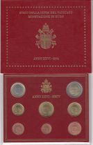 Vatican City State Proof set of 2004 - Pope John Paul II - 8 coins in Euros