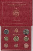 Vatican City State Proof set of 2006 - Benoit XVI - 8 coins in Euros