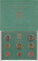 Vatican City State Proof set of 2010 - Benoit XVI - 8 coins in Euros