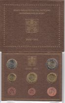 Vatican City State Proof set of 2011 - Benoit XVI - 8 coins in Euros