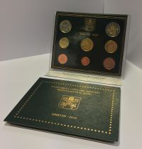 Vatican City State Proof set of 2018 -  8 coins - Arms