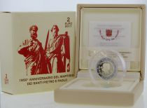 Vatican Coffret 2 Euro BE 2017 - Saint Pierre et Saint Paul