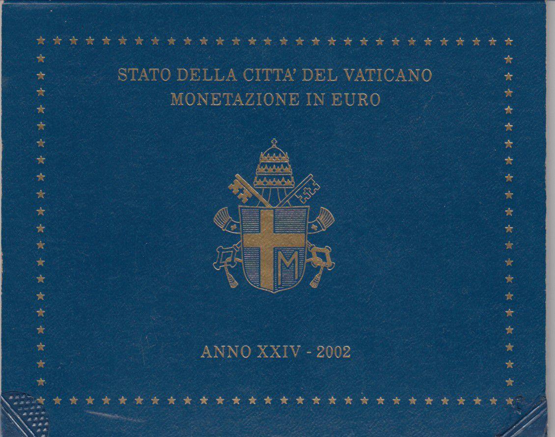 Vatican Coffret BU 8 pièces 2002 - Jean-Paul II