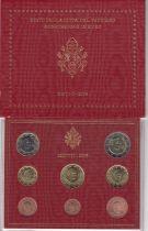 Vatican Coffret BU 8 pièces 2006 - Benoit XVI - Coffret abimé