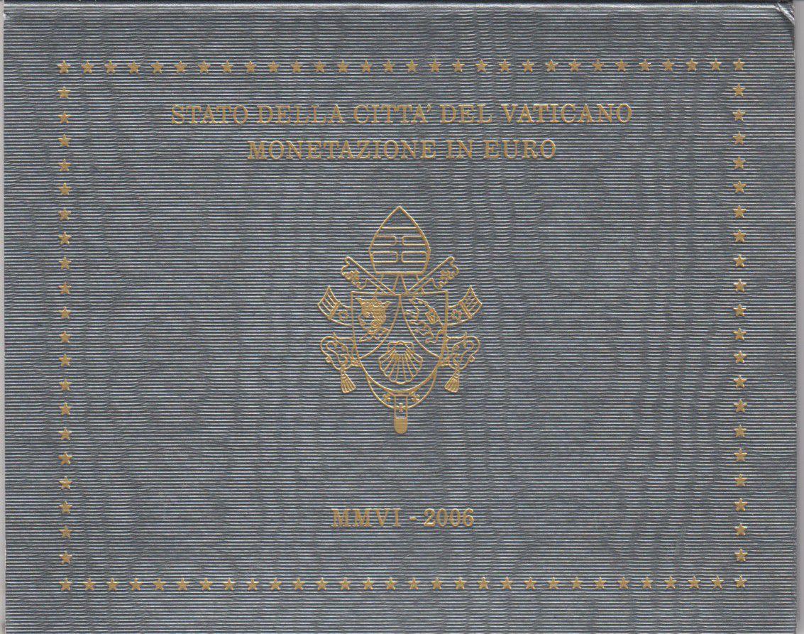 Vatican Coffret BU 8 pièces 2006 - Benoit XVI