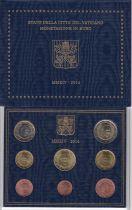 Vatican Coffret BU 8 pièces 2014  - François
