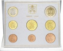 Vatican Coffret BU 8 pièces 2020 - Armoiries du Pape François