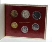 Vatican Série FDC 6 pièces Jean-Paul II 1979 Rome