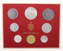 Vatican Série FDC 8 pièces Paul VI 1973 Rome