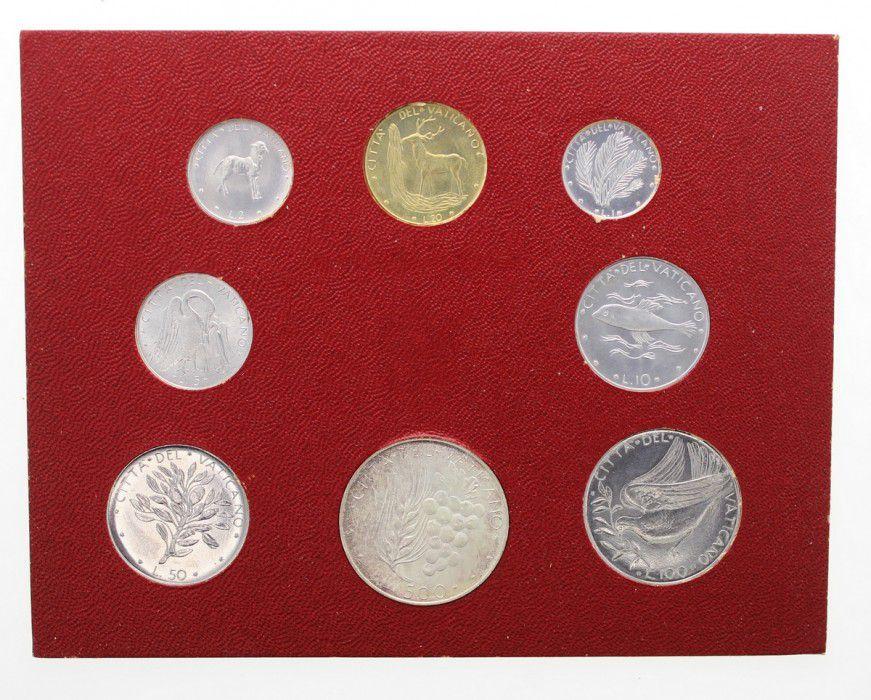 Vatican Série FDC 8 pièces Paul VI 1974 Rome