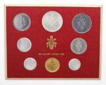 Vatican Série FDC 8 pièces Paul VI 1975 Rome