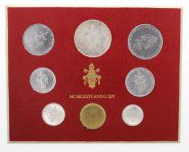 Vatican Série FDC 8 pièces Paul VI 1976 Rome