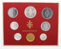 Vatican Série FDC 8 pièces Paul VI 1977 Rome